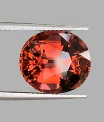 If Clarity 12.47 Ct Natural Orange Pink Tourmaline Have Video