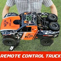 18 Large 4wd Rc Car Updated Version 2.4g Radio Control Car Toys Off-road Truck