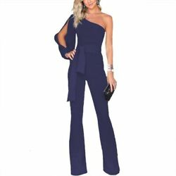 Womens Romper Party Playsuit Clubwear Trousers Overall Ladies Bodysuit Casual
