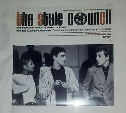 The Style Council Andlrmandndash Shout To The Top 1985 Canadian 12 Ep New Factory Sealed