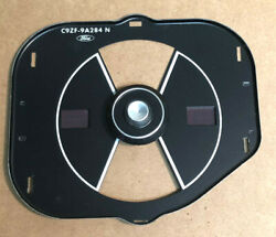 1969 1970 And Other Mustang Temp And Fuel Gauge Black Faced Bezel Non-tach Oem C9zf-