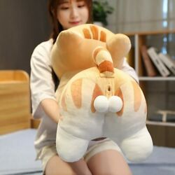 40-100cm Big Size Butt Cat Pillow Cute Animal Stuffed Plush Toy Doll For Kids