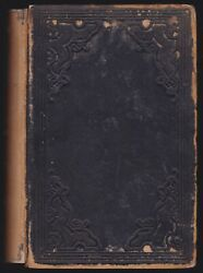 Rare 1852 Antique Book On Farming Farmer Cattle Machines Agriculture Illustrated