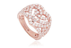 New Clogau Rose Gold 18ct Gold Eternal Love £2300 Off Size P Discontinued