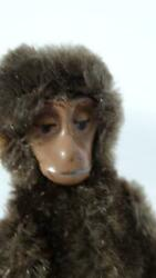Vintage Early 1930's Schuco Mini Metal Face Monkey Chimp 9cm 3 Inches