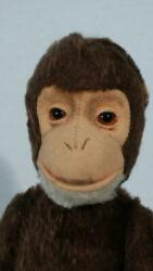 Vintage Early Schuco Tricky Yes / No Monkey Chimpanzee 25cm 10 Inches