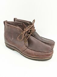 Gokey Company The Sauvage Hiker Chukka Ankle Boots Brown Leather Sz 12 Ee Wide
