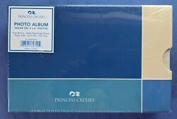 Princess Cruises Photo Album - Holds 100 4 X 6 Pictures - New - Free Shipping