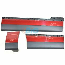 Land Rover Range Rover L405 Right Side Door And Wing Moulding Set In Firenze Red