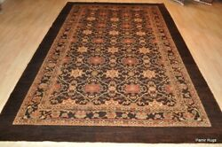 Top Quality 6and039x9and039 Vegetable Dye Antique Washed Brown One Of A Kind Decorative