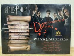 Harry Potter Dumbledore's Army Wand Collection The Noble Collection Hermione Ron