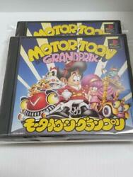Sony Motor Toon Grand Prix Playstation Ps1 Game Software Japan Model X2 Set