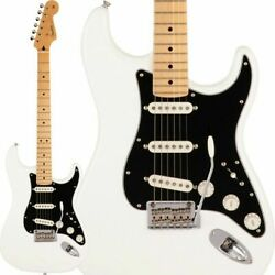 New Fender Made In Japan Hybrid Ii Stratocaster Arctic White Maple Fb W/gb