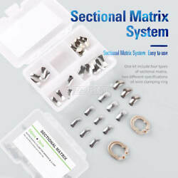 Azdent Dental Sectional Contoured Metal Matrices Matrix Refill Bands Ring F2 F1