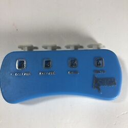 Vintage Hand Held Plastic Money Clicker Handy Counter Action Hong Kong Works