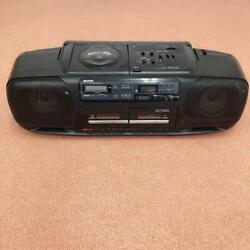 Sharp Sharp Disc Stereo Double Cassette Qt-50cd With Instructions vintage906