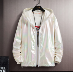 Summer Sun Protection Jacket Coat Menand039s Trend Slim Fit Hooded Top