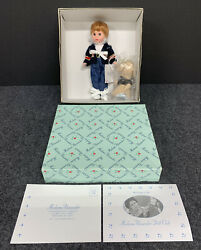 """Madame Alexander """"snips And Snails"""" Boy And Dog 31330 8"""" Doll Nrfb Mint"""