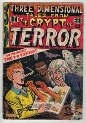 Three Demensional Tales From The Crypt 2 - Al Feldstein Cover - E.c Comics/1954