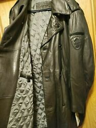 Nexx Unlimited Big Tall Moto Menand039s 2x Black Leather Pea Coat Discontinued Ny