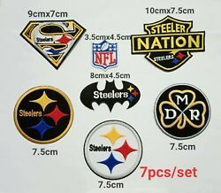 Nfl Pittsburgh Steelers Logo Patch Sport Embroidery ,iron ,sweing On Fabnc