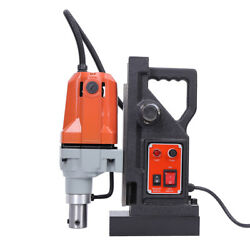 Md40 1100w Electric Magnetic Drill Press 1.5 Boring 2700lbs Magnet Force 110v