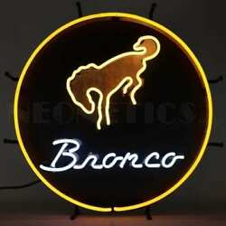 Ford Bronco Neon Sign – 5bronc By Neonetics