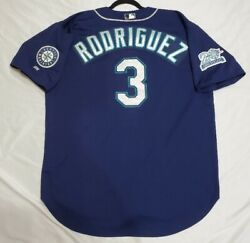Russell Athletic Jersey 52 2xl Seattle Mariners Alex Rodriguez Usa Made, Rare