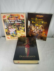Dragonlance Chronicles Special Edition Hardcover Book Factory Sealed W/ Bonuses