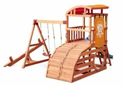 Backyard Cottontail Adventures Hideaway Outdoor Playset For Up To 10 Kids