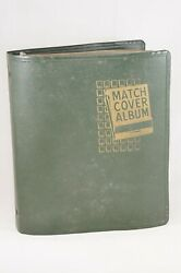 Vtg Matchbook Match Cover Album W/ Approx 550 Covers Midwest Chicago Hawaii