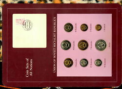 Coin Sets Of All Nations Ussr Russia Unc W/card 1978 But 2021 Kopecks 1979