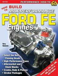 How To Build Max-performance Ford Fe Engines Book361 390 406 427 428 Enginenew