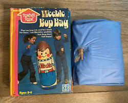New Weebles 1975 Romper Room Inflatable Vintage Punching Bop Bag Rare Toy Hasbro
