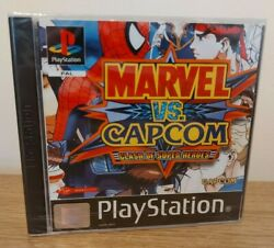 Marvel Vs Capcom Clash Of Super Heroes - New And Sealed - Uk Pal - Sony Ps1