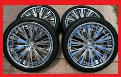 22 Bentley Continental Gt Flying Spur Chrome Asanti Wheels Michelin Tires Tpms