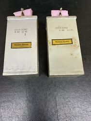 Pair Of Western Electric 269-a Cond 5 Mf Oil Condenser/capacitor For Tube Amps