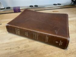 1976 Holy Bible King James Version Giant Print Red Letter Nelson 557br Nelson