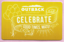 Outback Steakhouse No Value Gift Card - Celebrate