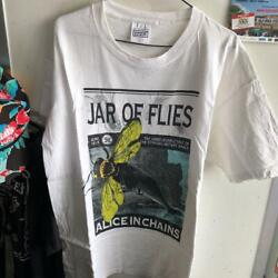 Rare Vintage Item Alice In Chains Jar Of Flies T-shirt Shipping From Japan