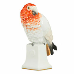 Antique Porcelain Figure Parrot Rosenthal Germany 1921 - 1922 Hand Painting