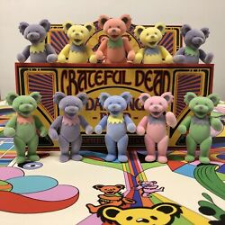 Grateful Dead Dancing Bears - Flocked Variant Edition Of 450 Sold Out Preorder