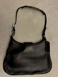 Authentic Coach Handbag Small Hobo Back Leather Pre owned SHIPS FAST GORGEOUS $39.00