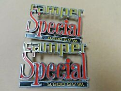 Nos 1973 - 1982 Chevy Gmc Pickup Truck Camper Special Emblems C10 C20 K20
