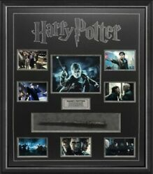Harry Potter Hand Signed Framed Photo With Wand Daniel Radcliffe Hermione Ron