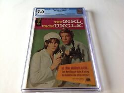 Girl From Uncle 1 Cgc 7.0 Stephanie Powers April Dancer Nbc Tv Gold Key Comics