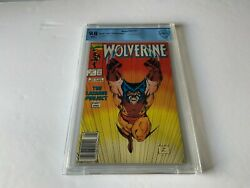 Wolverine 27 Cbcs 9.8 White Pages Newsstand Edition Marvel Comic 1989 Like Cgc