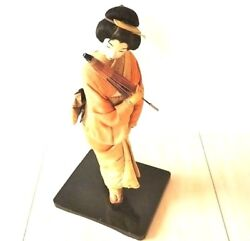 Japanese Doll . Rare To Find Authentic Collector . Unique . Vintage ⭐️⭐️⭐️⭐️⭐