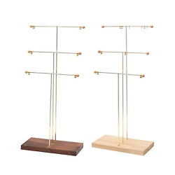 3 Tier Jewelry Necklace Stand Rack Holder Display For Earrings Bracelet