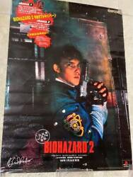 Resident Evil 2 Over-the-counter Promotional Poster Brad Renfro Very Rare